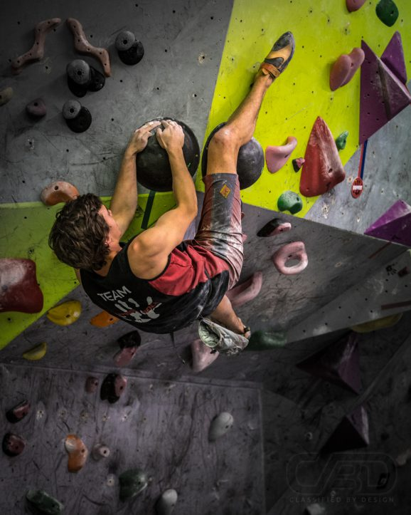 VIC State Titles Bouldering Competition