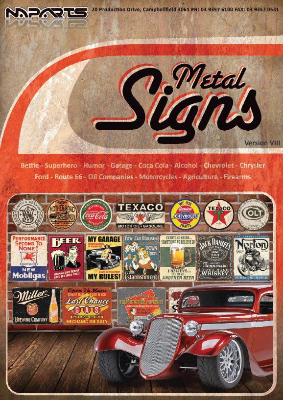 Metal Signs Brochure